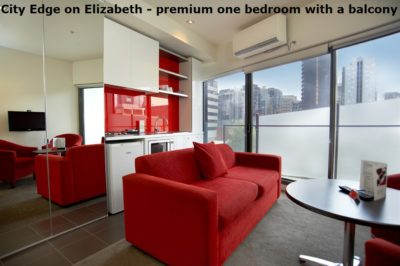 Discover City Edge on Elizabeth Apartment Hotel - Premium Apartment with a Balcony