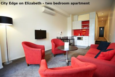 Discover City Edge on Elizabeth Apartment Hotel - Two Bedroom Apartment